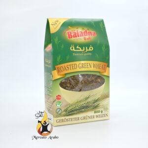 grano verde tostato Freekeh libanese Baladna 800g