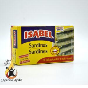 Sardine in salsa piccante Isabel 115g