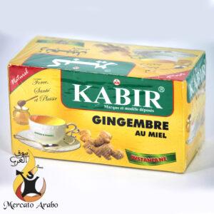 tisana allo zenzero e miele Kabir