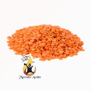 Lenticchie rosse spezzate 800 gr