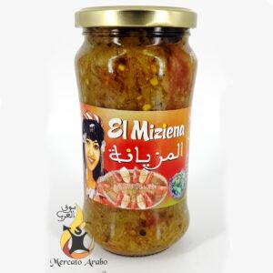 Insalata alla griglia piccante tunisina El Miziena 350g
