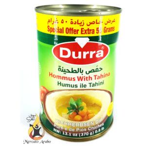 Hommus con Tahina Durra