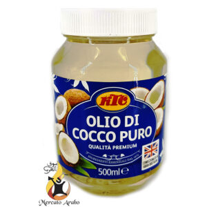 Olio puro di cocco 500 ml