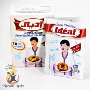 Zucchero vanigliato Ideal 10 bustine