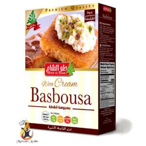 Preparato per basbousa con crema Holw el Sham