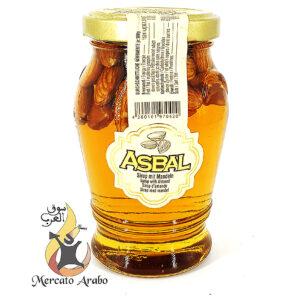Sciroppo di glucosio con mandorle Asbal