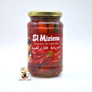 Peperoncini piccanti sott'olio El Miziena 350g